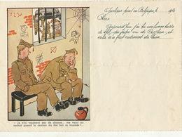 Carte Lettre Prisonnier De Guerre Offert Par L'office Du Thé Inde Ceylan Oeuvre Elisabethen 1940 - Vecchi Documenti
