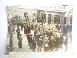 66 Photo LE COLNEL BON DONNANT SES DERNIERES INSTRUCTIONS AUX OFFICIERS FRANCAIS - Autres Communes