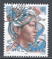 Switzerland 1986. Scott #777 (U) Europa, Woman * - Oblitérés