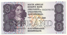 Sud Africa - 5 Rand 1990, - Sudafrica