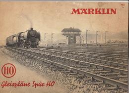 Catalogue Marklin Train Signaux Modèles - Non Classés