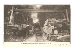 CPA Indochine Une Exploitation Forestière En Cochinchine - Cartes Postales