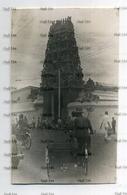 Malaya Singapore Hindu Temple 1930s-50s Postcard - Trimmed - Singapore
