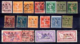 1920 - 1923; Diverse Typen O.M.F. Syrie, Gem. Scan, Neu Mit Falz Oder Gestempelt, Gem. Scan, Lot 49788 - Syria