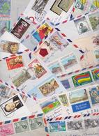 ÎLE MAURICE - MAURITIUS - Beau Lot Varié De 156 Enveloppes Timbrées - Stamped Air Mail Covers - Cover - Stamps - Timbres - Maurice (1968-...)