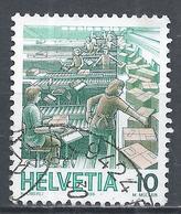 Switzerland 1986. Scott #780 (U) Post Service, Parcel Sorting * - Suisse