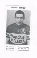 SERCU Patrick  Wielrenner Coureur Cycliste  Flandria - Cyclisme