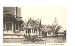 CPA Indochine A Pnom Penh L'école D'administration - Cartes Postales