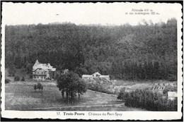 TROIS-PONTS - Château Du Petit-Spay - Oblitération De 1939 - Trois-Ponts