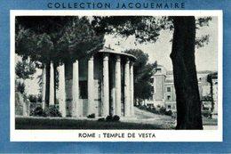 CHROMO BLEDINE DIASE CEREALE LAIT ALMA  COLLECTION JACQUEMAIRE  ROME TEMPLE DE VESTA - Cromos