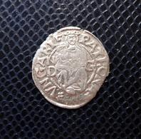 HUNGARY / II.LAJOS - LUDOVICUS II.(1516-1526) SILVER DENAR 1525 ND-G / UNGER 673w - HUSZAR 841 - Hongrie