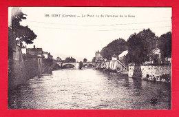 F-19-Bort-18P143 Le Pont Vu De L'avenue De La Gare, Cpa BE - Autres Communes