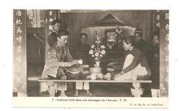CPA Indochine Intérieur Riche Dans Une Campagne De L'Annam - Cartes Postales