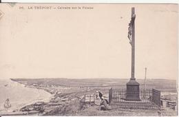 CPA - 56. LE TREPORT Calvaire Sur La Falaise - Le Treport