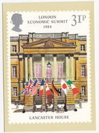 LANCASTER HOUSE - London Economic Summit 1984  - 31p Stamp - June 1983 - Postzegels (afbeeldingen)