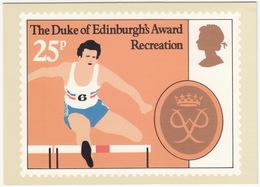 RECREATION - The Duke Of Edinburgh's Award  - 25p Stamp - August 1981 - Postzegels (afbeeldingen)