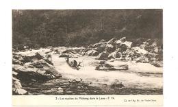 CPA Indochine Les Rapides Du Mékong Dans Le Laos - Cartes Postales