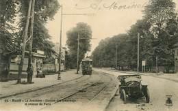 Dép 92 - Voitures - Automobile - Chemins De Fer - Tramway - Rueil Malmaison - La Jonchère - Station Des Tramways - Rueil Malmaison