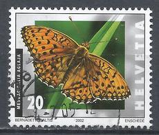 Switzerland 2002. Scott #1127 (U) Insect, Mesoacidalia Aglaja * - Suisse