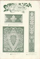 Catalogue Majoliques De Hasselt Carreau Carreaux Faience Majolique Art Nouveau - 1800 – 1899