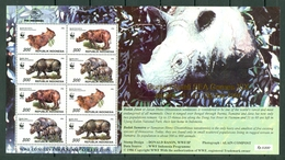 Indonesia 1996 - ZB 172326**, Mi 164851**, Yv. 1777** - WWF Conservation Stamp Collection - Full Sheet MNH - Indonésie