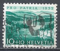 Switzerland 1952. Scott #B213 (U) Doubs River * - Pro Patria
