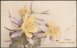 Webbs' Diadem Aquilegia, 1910 - Webb & Sons Postcard - Flowers