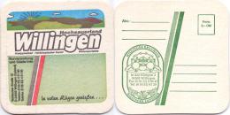 #D208-143 Viltje Willinger Landbier - Bierviltjes