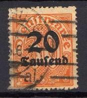 DR Dienstmarken 1923, Mi D 90, Gestempelt [120618VI] - Officials