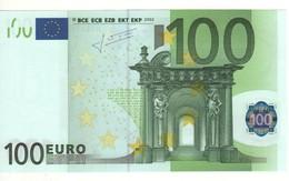 """100 EURO  """" N """"   AUSTRIA   Firma TRICHET   F 003 E3   /   FDS - UNC - 100 Euro"""