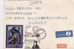 Brief In Die Schweiz (br4705) - 1944-.... Republik