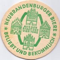 #D208-225 Viltje Neubrandenburger Biere - Sous-bocks