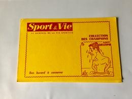 BUVARD   SPORT   &  VIE  ( Robert   CHRISTOPHE  ) - Sports
