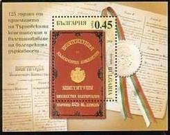 125 Years Of The Turnovo Constitution - Bulgaria / Bulgarie 2004 - Block MNH** - Bulgarie