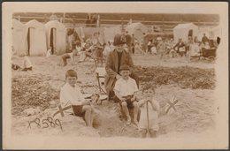 On The Beach, Margate, Kent, C.1920s - Remington Fotosnaps RP Postcard - Margate