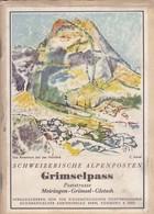 Schweizerische Alpenposten - Grimselpass - - Livres, BD, Revues