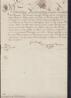 Dokument 1769 Äbtissin Zu Gandersheim - Historische Dokumente