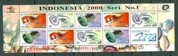 Indonesia 1997 - Indonesia 2000 - Mi 1695/97**, Yv. 1515/17**,  Full Sheet MNH - Indonésie