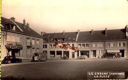 Le Chesne La Place Café Tabac L DRUMEL - Le Chesne