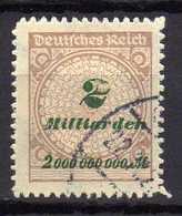 Deutsches Reich, 1923, Mi 326 B, Gestempelt [120618VI] - Deutschland