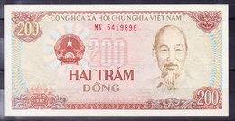 VIETNAM BILLET DE 200 DONG UNCIRC. (BB21) - Viêt-Nam