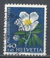 Switzerland 1958. Scott #B281 (U) Flower, Christmas Rose * - Pro Juventute