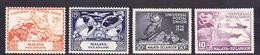 Malaysia-Selangor SG 111-114 1949 UPU, Mint Hinged - Selangor