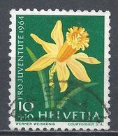 Switzerland 1964. Scott #B310 (U) Flower, Daffodil * - Pro Juventute