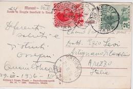 ROUMANIE 1936 CARTE POSTALE DE PLOESTI - 1919-1939 Republic