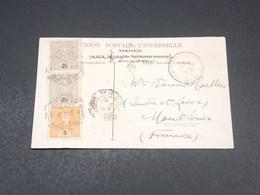 PORTUGAL - Affranchissement  Sur Carte Postale En 1907 - L 18967 - Lettres & Documents