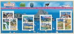 FRANKREICH  Mi.Nr. 4216-4225 Aspekte Der Regionen - Used - Oblitérés
