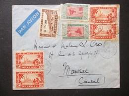 Senegal: 1912 Air Cover To Moriac (#DE3) - Sénégal (1887-1944)
