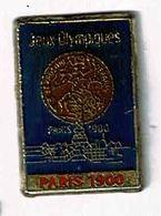 C289 Pin's Jeux Olympiques Olympic Games JO FRANCE Paris 1900  Tour Eiffel Achat Immediat - Athletics