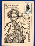 Carte Premier Jour / Dernier Portrait De Mandrin / Valence / 18-03-1961 - Maximumkarten